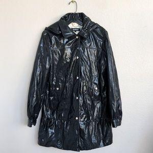 Vintage Guess Faux Leather Raincoat